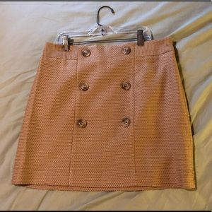 Ann Taylor LOFT tan pencil skirt